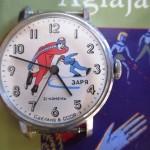 01 ceas Zaria patinaj mecanism 2009B
