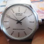 01 ceas Orex made in Romania, mecanism ST 5