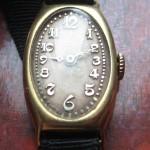 01 ceas vintage  Movado din aur de 18k, mecanism 9M