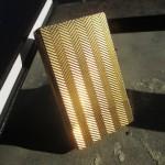 01 bricheta Dupont placata cu aur, laque de Chine