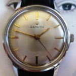 01 ceas Zenith mecanic vintage, calibrul 2532