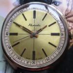 01 ceas Raketa placat cu aur, mecanism 2609.HA