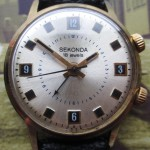 01 ceas Sekonda cu sonerie, mecanism Poljot 2612