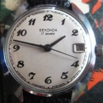 01 ceas Sekonda mecanic, mecanism Poljot 2614.2H
