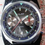01 ceas Sturmanskie cronograf, mecanism Poljot 3133