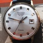 01 ceas Sekonda Autodate De Luxe mecanism 2416 Kosmos