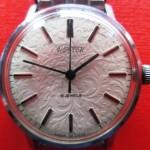 01 ceas Wostok cadran decorat cu arabescuri mecanism 2209