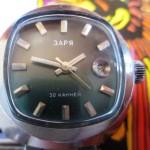 01 ceas Zaria automatic cu 30 de rubine, mecanism 2016
