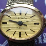 01 ceas Sekonda dama, mecanism Zaria 1509 B.1