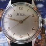 01 ceas Doxa Anti-Magnetic serie mecanism Doxa (ETA 1080)