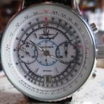 01 ceas Poljot Blue Angels Navitimer cronograf, mecanism Poljot 3133