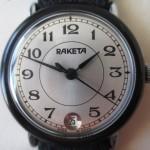 01 ceas Raketa bezel bachelita mecanism 2614.H