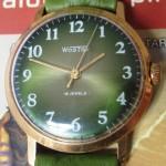01 ceas Wostok oliv mecanism 2209