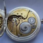04 ceas buzunar Elgin argint mecanism Elgin 151