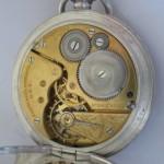 06 ceas buzunar Elgin argint mecanism Elgin 151