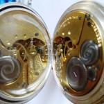 12 ceas buzunar Elgin argint mecanism Elgin 151
