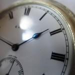 15 ceas buzunar Elgin argint mecanism Elgin 151