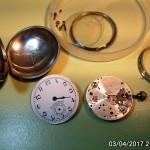 17 ceas buzunar golf D.J. Rees (Dai Rees) mecanism FHF 3